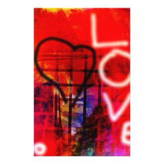 Love Graffiti Stationery