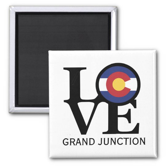 LOVE Grand Junction Colorado Magnet