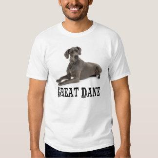 Love Great Dane Puppy Dog Mens Tee Shirt