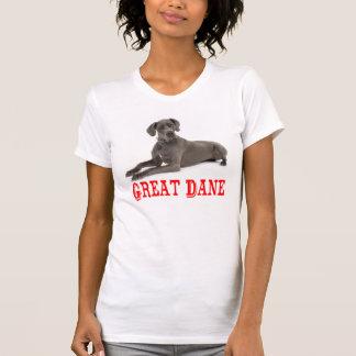 Love Great Dane Puppy Dog Tee shirt