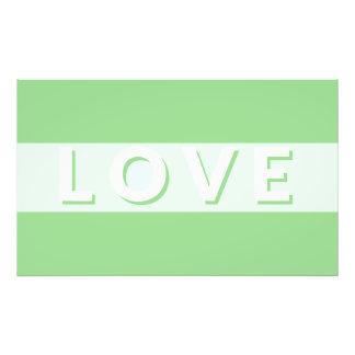 Love - Green Art Photo