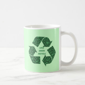 love green recycle mugs