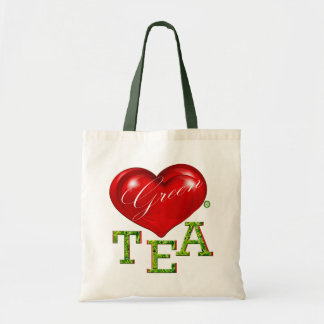 Love Green Tea Designer Modern Bag