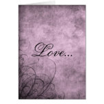 Love- Greeting Card: Love's Twilight Collection