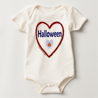Love Halloween Baby Bodysuit