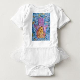 Love Hamsa Baby Bodysuit