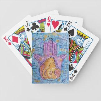 Love Hamsa Bicycle Playing Cards