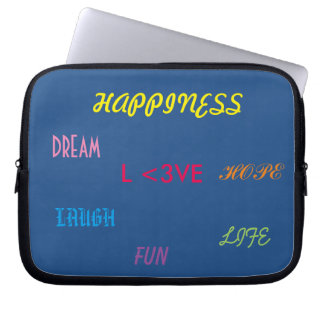 Love Happiness Dream Electronic Bag Laptop Sleeve