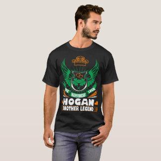 Love Happiness Luck Hogan Legend Irish St Patrick T-Shirt