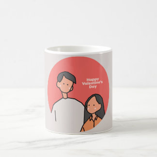 Love (Happy Valentine's Day) Coffee Mug