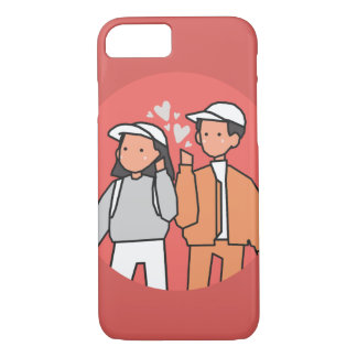 Love (Happy Valentine's Day) iPhone 8/7 Case