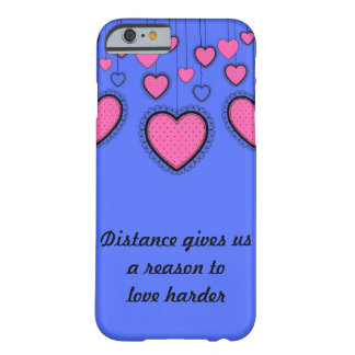 Love Harder Barely There iPhone 6 Case