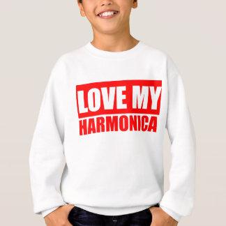 Love Harmonica Sweatshirt
