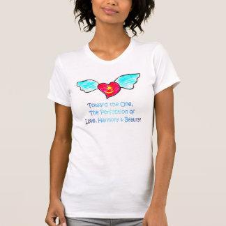 Love Harmony Beauty Winged Heart T-Shirt