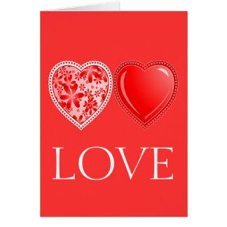 Love Harts Card