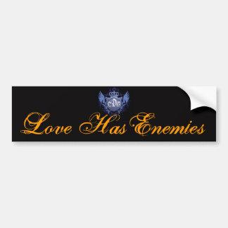 Love Has Enemies -Bumper Sticker