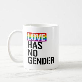 Love has no gender - - LGBTQ Rights -  Coffee Mug
