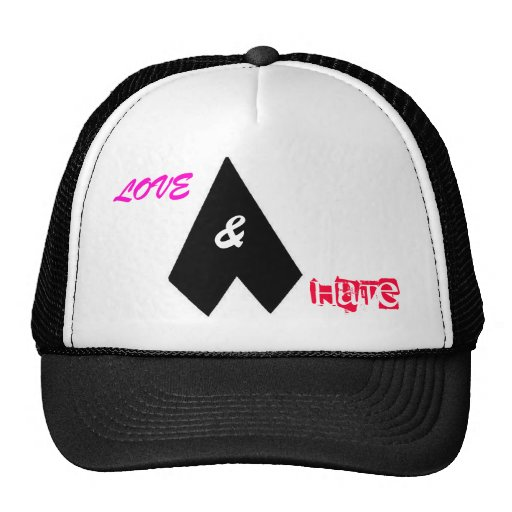 Love & Hate Mesh Hat