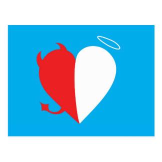 Love / Hate Postcard