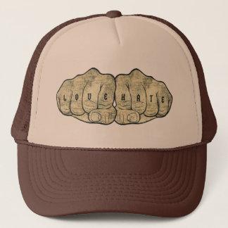 Love & Hate tattoo Trucker Hat