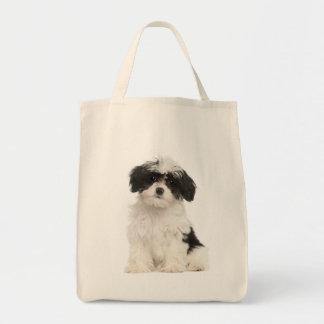 Love Havanese Puppy Dog Tote Bag