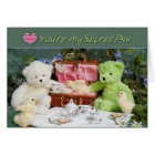 Love having you for a Secret Pal - greeting card -