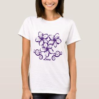 Love Hawaii Plumeria T-Shirt