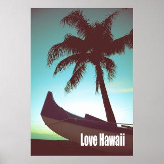 Love Hawaii Poster