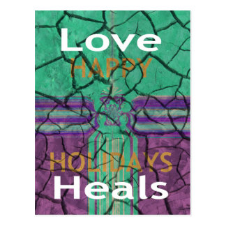 Love Heals Postcard