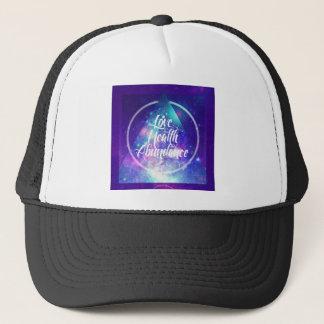 love-health-abundance zen series trucker hat