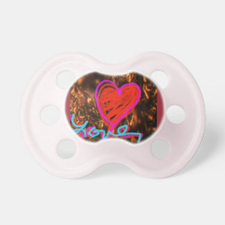 love heart 2 pacifier baby infant BooginHead pacifier