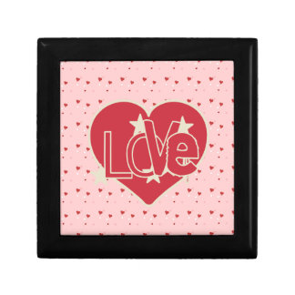 Love Heart and Stars Gift Boxes