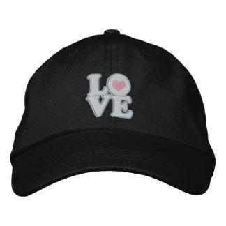 Love Heart And Text Baseball Cap