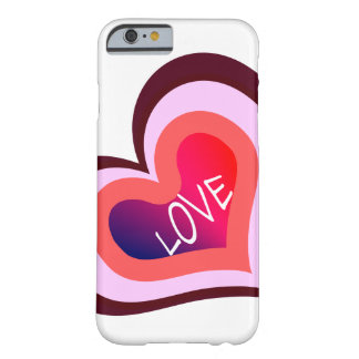 Love Heart Barely There iPhone 6 Case