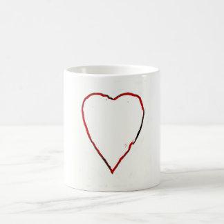 Love Heart Basic White Mug