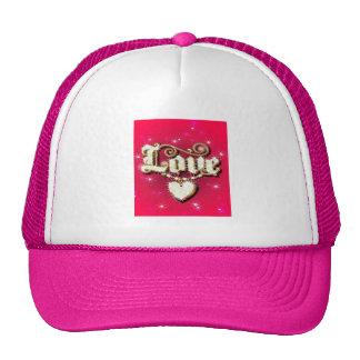 Love Heart Bling Hat