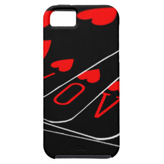 Love Heart Card Games iPhone 5 Cases