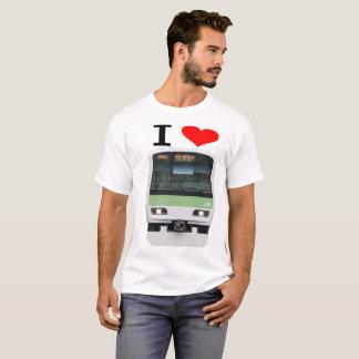 Love heart Chiba JR E231 uptown line (i love JR T-Shirt