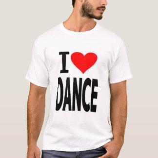 Love heart DANCE (I Love DANCE) T-Shirt