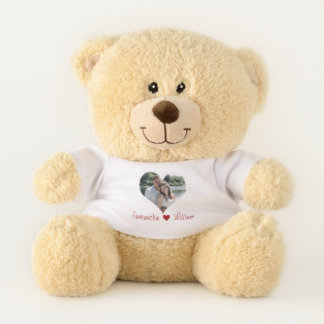 Love Heart Frame Personalised Teddy Bear