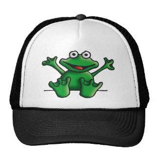 love heart frog cap