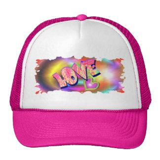 Love Heart Trucker Hat