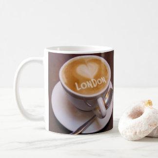 Love Heart London Cappuccino Coffee Mug