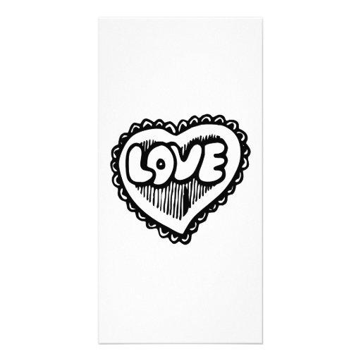 Love Heart Photo Cards