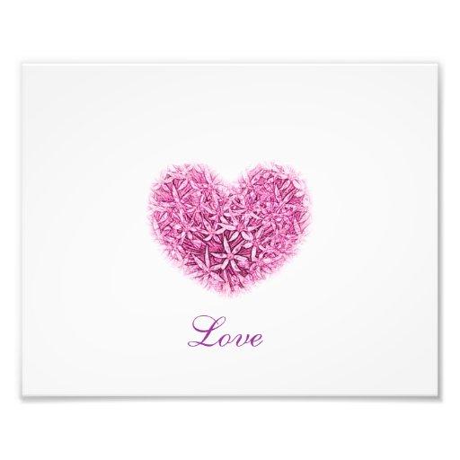Love Heart PhotoPrint. Photographic Print