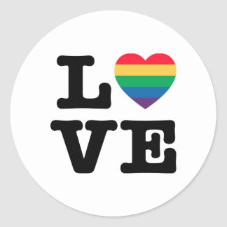 Love Heart Pride Sticker