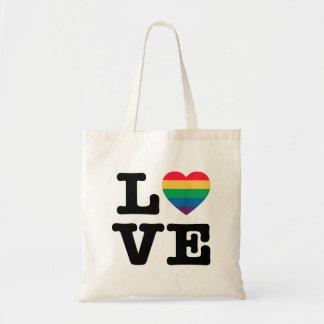 Love Heart Pride Tote Bag