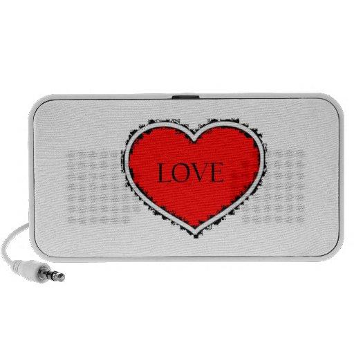 Love heart speaker