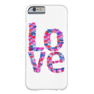 LOVE Heart Text Phone Case Barely There iPhone 6 Case