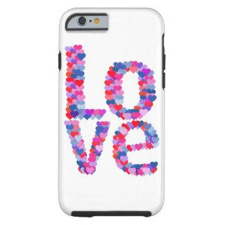 LOVE Heart Text Phone Case Tough iPhone 6 Case